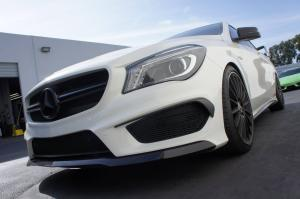 2014 Mercedes-Benz CLA45 AMG by R's Tuning and Voltex